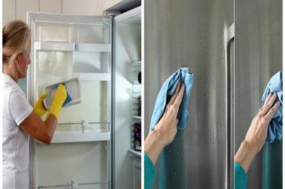 Bà nội trợ nên cảnh giác với hiện tượng tủ lạnh đổ mồ hôi