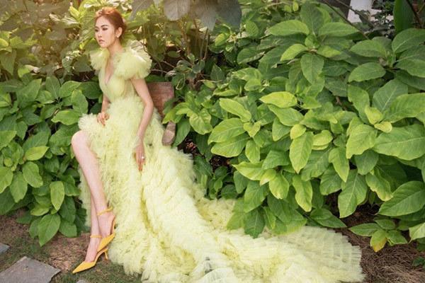 Á hậu Trúc Ny đẹp kiêu sa trong bộ ảnh mới