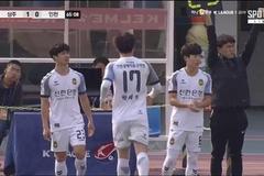 Công Phượng vào sân 28 phút, Incheon thua vẫn vui!