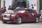 Rolls-Royce Ghost biển ngũ quý 1 làm xe rước dâu tại Hà Nội