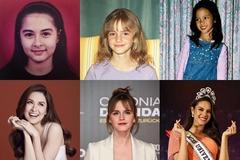 Những mỹ nhân hàng đầu thế giới đẹp từ tấm bé