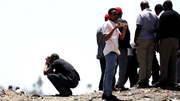 Máy bay rơi,máy bay ethiopia,nạn nhân
