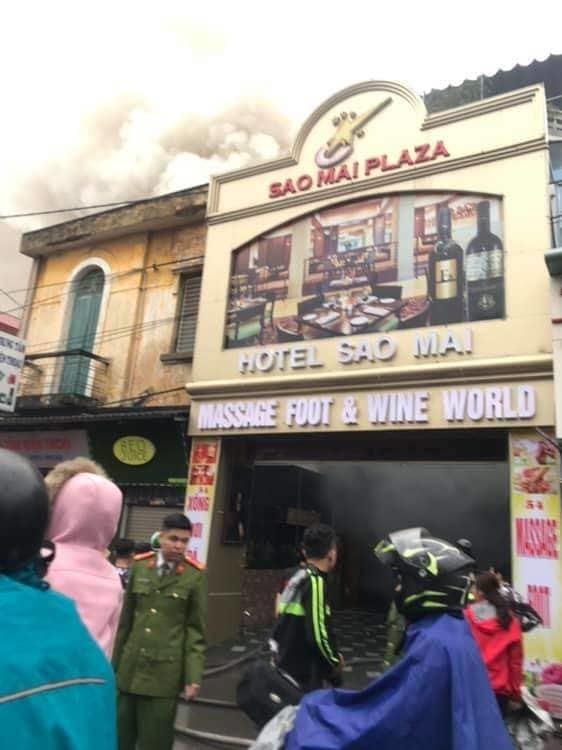 Cháy khách sạn ở Hải Phòng: Nữ nhân viên tử vong, 2 khách mắc kẹt