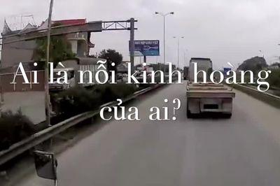 Phụ nữ đối đầu xe công-ten-nơ: Ai sợ ai?