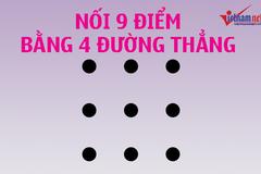 """4 câu đố có thể khiến đầu óc bạn """"quay cuồng"""""""