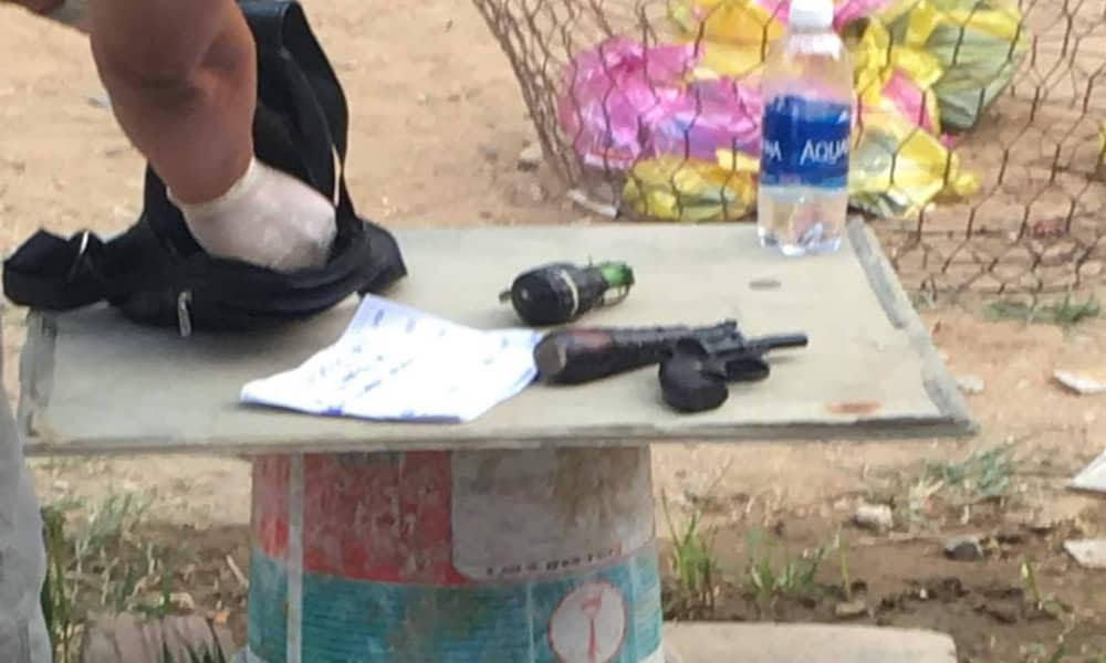 Cảnh sát trấn áp 2 nhóm giang hồ mang hàng nóng hỗn chiến