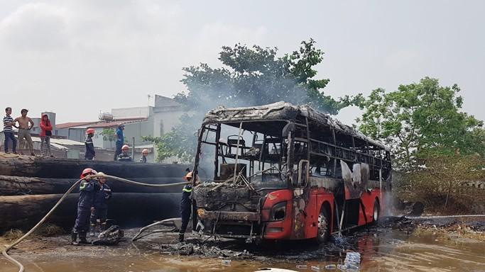 xe khách,Quảng Nam,cháy