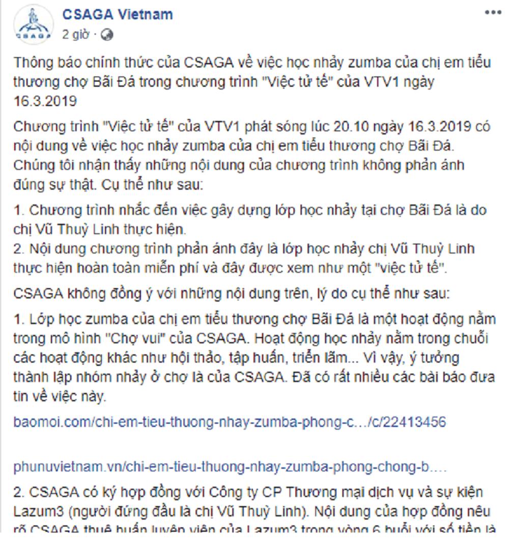 'Việc tử tế' của VTV bị tố đưa thông tin chưa đúng sự thật
