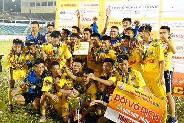 Hạ đàn em Công Phượng, U19 Hà Nội lên ngôi vô địch