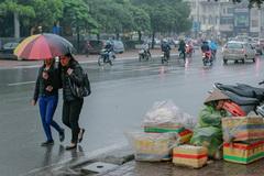 Dự báo thời tiết 18/3: Hà Nội mưa phùn rả rích