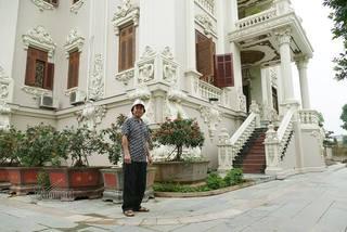 Tỷ phú Nam Định tiết lộ về tòa lâu đài gần 50 tỷ, xây trong 9 năm
