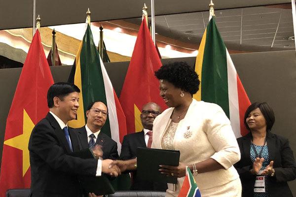 Việt Nam và Nam Phi kết thúc đàm phán song phương hiệu quả