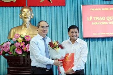 Ông Huỳnh Cách Mạng giữ chức Phó Ban Tổ chức Thành ủy
