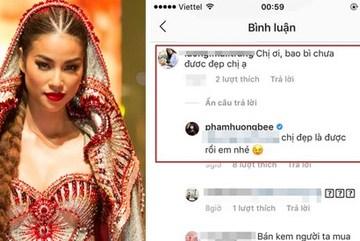 Sau phát ngôn để đời 'cố đầu thai để được đẹp như chị', Phạm Hương tiếp tục trả lời kiểu 'hắt nước lạnh' kém sang?