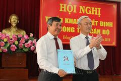 Công bố quyết định của Ban chấp hành TƯ Đảng về công tác cán bộ