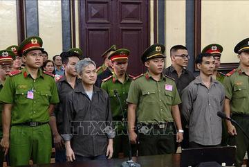 Y án sơ thẩm nhóm người tổ chức phản động Liên minh dân tộc VN