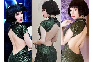 """Nhã Phương, Bảo Anh mặc váy khá nhạy cảm, dùng nội y là """"hỏng"""""""