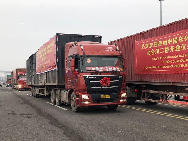 Thông quan cầu dạng vòm lớn nhất VN, nối Quảng Ninh với Trung Quốc