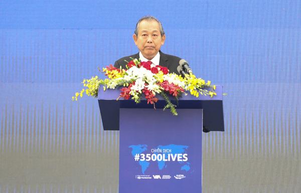 '#3500 sinh mạng'- Chiến dịch ATGT toàn cầu đến Việt Nam