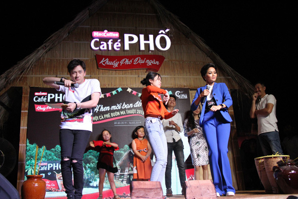 H'Hen Niê và Café PHỐ khuấy động Lễ hội Cà phê 2019