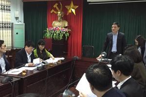 Họp báo sán lợn ở Bắc Ninh: 'Không có chuyện lãnh đạo can thiệp nhập thực phẩm'
