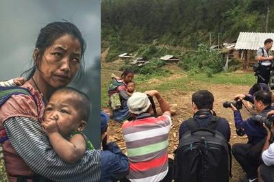 Tranh cãi quanh bức ảnh bà mẹ Việt Nam đạt giải thưởng 120.000 USD