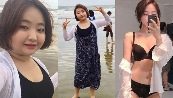 Bí quyết giảm 28kg trong 4 tháng biến cô gái 9x mập mạp trở nên quyến rũ