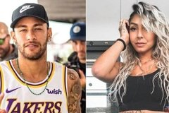 """Neymar dưỡng thương, tranh thủ """"tòm tem"""" người đẹp bốc lửa"""