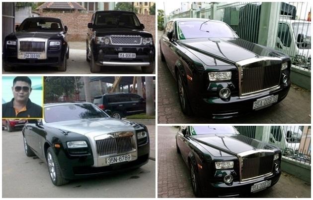 Rolls-Royce,Đại Gia Ninh Bình,siêu xe