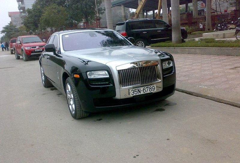 Những đại gia Ninh Bình chơi Rolls-Royce khét tiếng