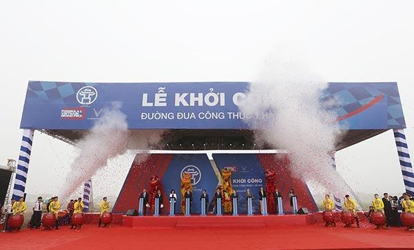Khởi công đường đua F1 tại Hà Nội