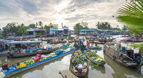 Vi vu Cần Thơ, Vân Đồn, Phú Quốc cùng triệu vé Vietjet