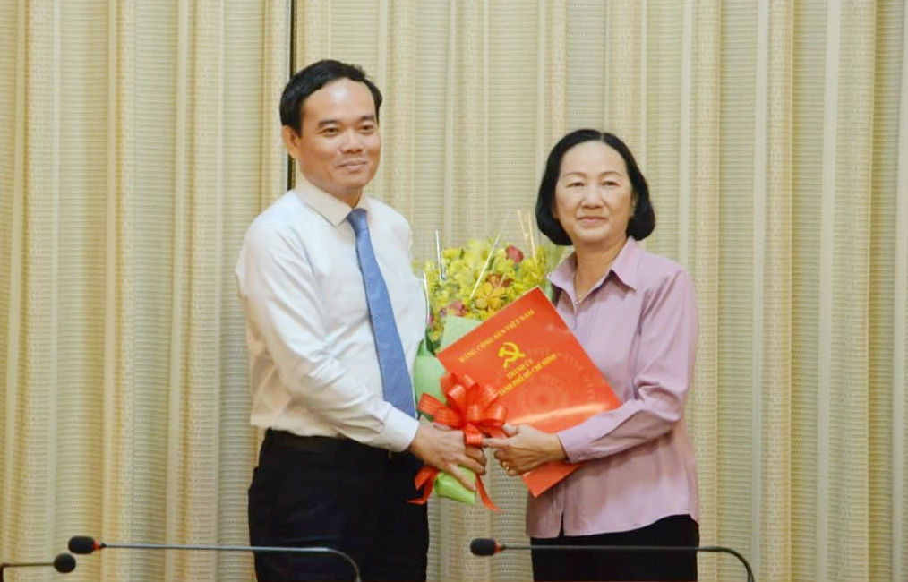 nhân sự,TP.HCM,Nguyễn Thị Quyết Tâm,nghỉ hưu