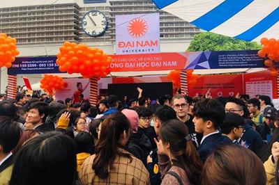 ĐH Đại Nam tham gia Tư vấn tuyển sinh, hướng nghiệp 2019