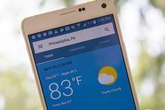 Cách tải ứng dụng thời tiết Google weather vào điện thoại