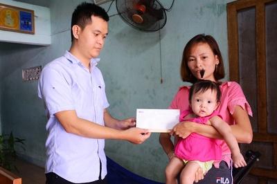 Bé Bảo Ngọc tiếp tục được ủng hộ hơn 17 triệu đồng