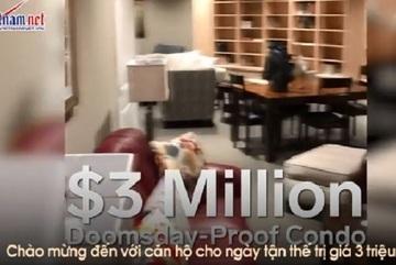 Căn hộ ngày tận thế giá chỉ 70 tỷ, chưa xong đã bán sạch