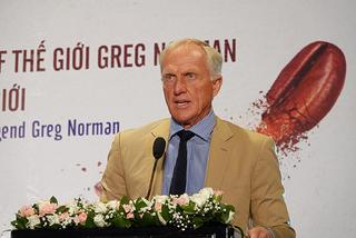 Huyền thoại Greg Norman khen golf Việt Nam rất tiềm năng