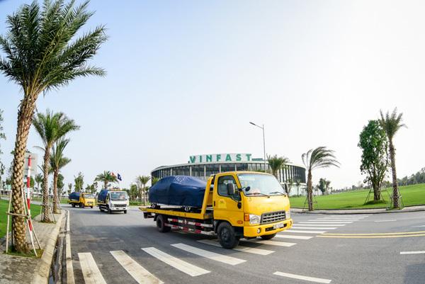 155 ô tô VinFast ra nước ngoài kiểm thử