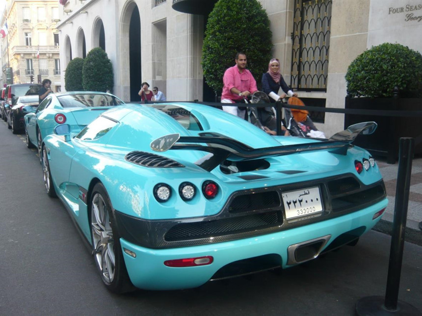 Siêu xe 2,3 triệu USD của cựu Thủ tướng Qatar gặp nạn