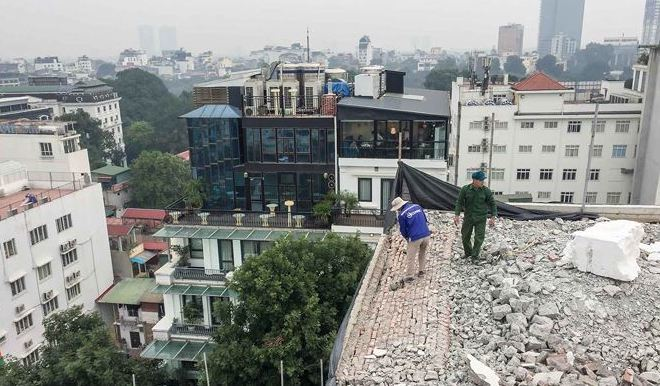 Hà Nội: Quận Hoàn Kiếm đứng đầu về sai phạm xây dựng 'chây ỳ'