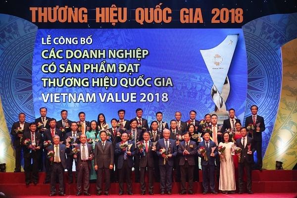 5 doanh nghiệp PVN được công nhận Thương hiệu Quốc gia