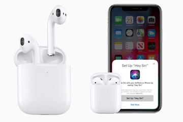 Apple bất ngờ ra mắt AirPods mới, chip mạnh hơn và sạc không dây