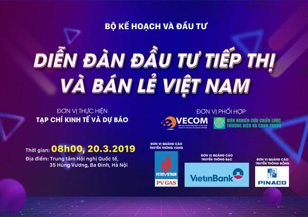 Diễn đàn đầu tư tiếp thị và bán lẻ Việt Nam