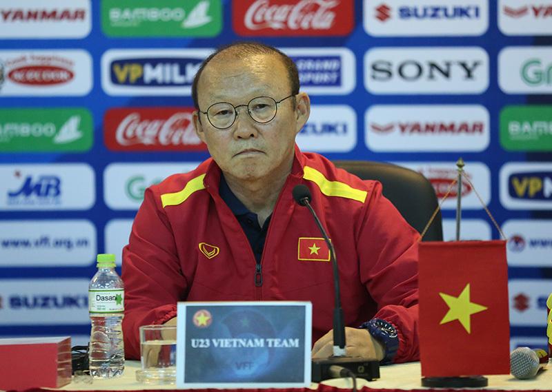 HLV Park Hang Seo: 'Tôi lo lắng và U23 Việt Nam thực sự khó khăn...'