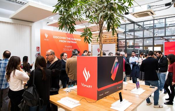 Vsmart ra mắt thị trường Tây Ban Nha