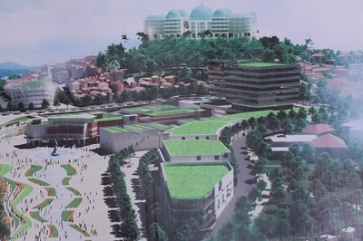 Quy hoạch Đà Lạt: Sừng sững khách sạn 10 tầng trên đỉnh đồi