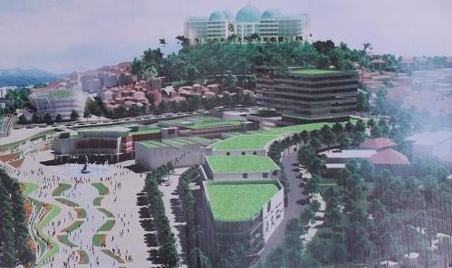 Đà Lạt,rạp hát Hoà Bình,điều chỉnh quy hoạch
