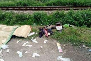Hải Dương: Hai phụ nữ đi xe máy bị tàu tông chết