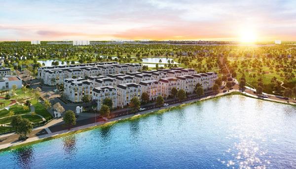 Không gian sống đẹp như mơ ở quận Long Biên